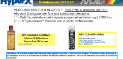 Manutenzione FAP - DPF